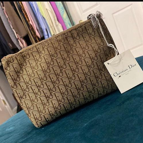 Christian Dior makeup case/ Clutch