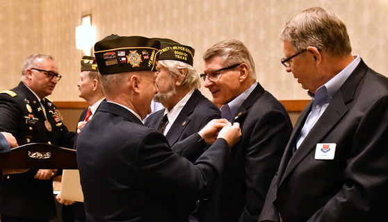 What a great event! On March 29, 2021, Frisco VFW sponsored a meeting in celebration of Vietnam Veterans Day at the Frisco Embassy Convention Center which concluded with a commemorative pin. The keynote speaker was Major General Jim Livingston, a retired USMC veteran, and the Dallas Cowboys cheerleaders were in attendance!
