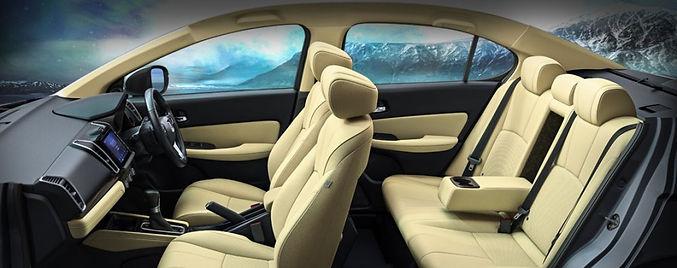 The 5th generation Honda City' interior;picture:hondacarindia.com