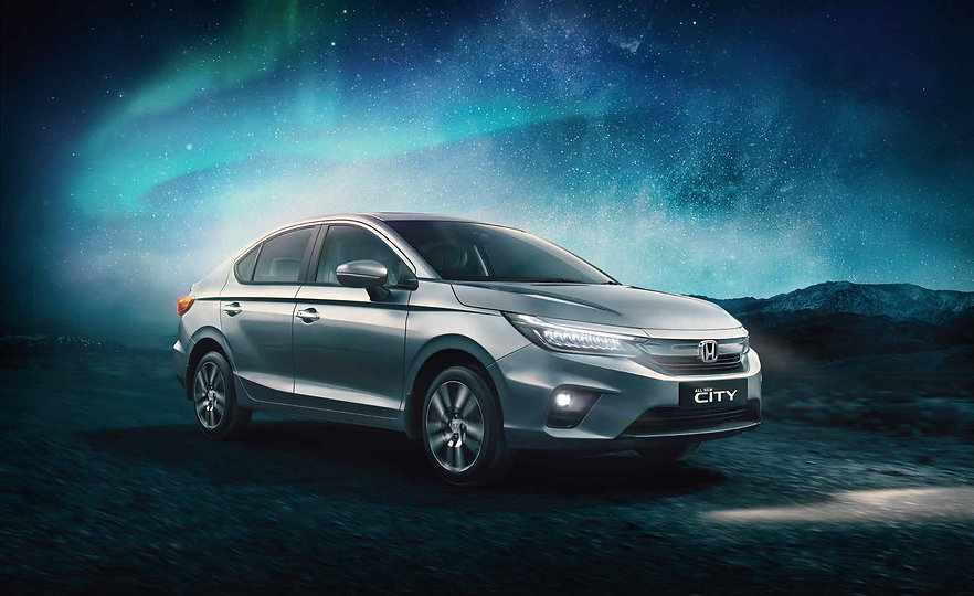 2020 Honda City all set to rule the Indian roads;picture:hondacarindia.com