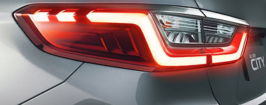 Honda City's Z shaped 3D taillamps;picture:hondacarindia.com