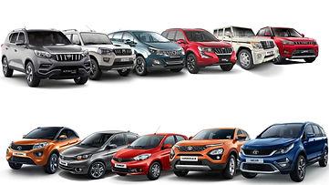 Tata & Mahindra SUV Lineup;pic credits:gaadiwaadi.com