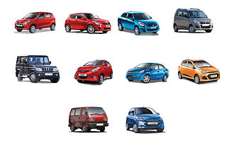 Different segments of cars in India;pic credits:autocarindia.com