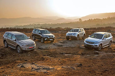 Full-size SUV options;pic credits:autocarindia.com