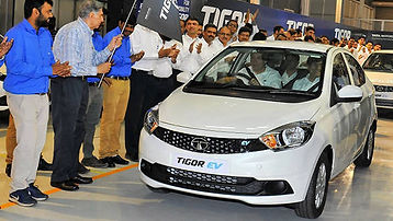 Tata Tigor EV as India's 1st conventional, affordable EV; pic credits:http://overdrive.in