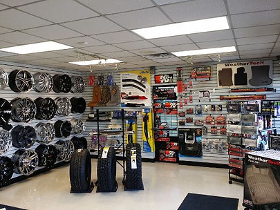 Aftermarket exterior accessories at a shop;pic credits:https://in.pinterest.com/