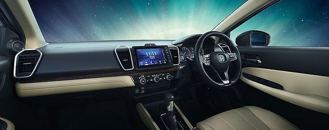 2020 Honda City's dashboard;picture:hondacarindia.com