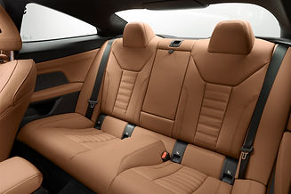 The newly developed leather seats;picture:press.bmwgroup.com