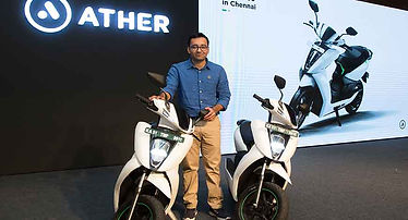 Ather electric scooters in India; pic credits:http://www.businessworld.in/