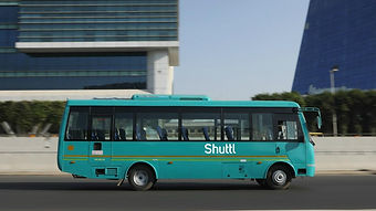 Shuttl busses/coaches available to hire on per seat  basis;picture:qz.com