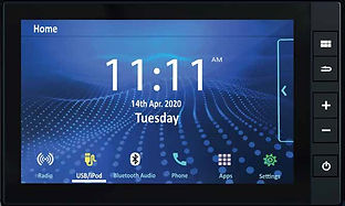 20.3 cm touchscreen infotainment system; picture:hondacarindia.com