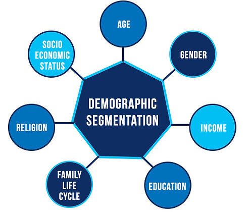 Consumer demographics;pic credits:questionpro.com