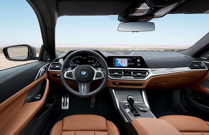 BMW 4 series interior;picture:press.bmwgroup.com