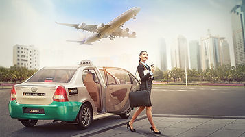 Meru cabs prefered for airport transfers;picture:meru.in
