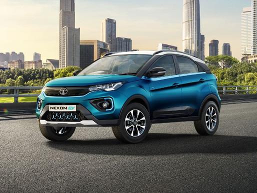 Tata Motors achieves Symbolic Milestone, rolls out 1,000th  Nexon EV