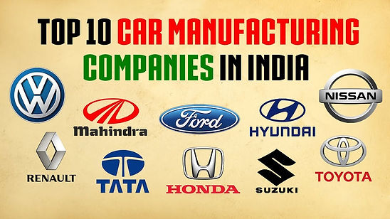 Top 10 car manufacturers in India;Youtube-Planetz Top10