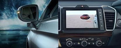 Lane Watch Camera on the Honda City; picture:gomechanic.in