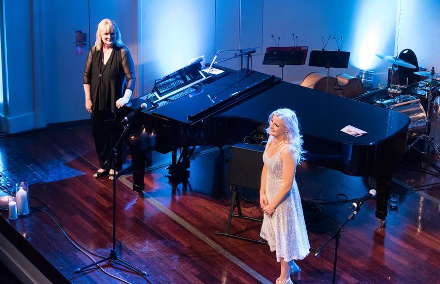 Sophie Morris on Stage - at the Glenroy Auditorium