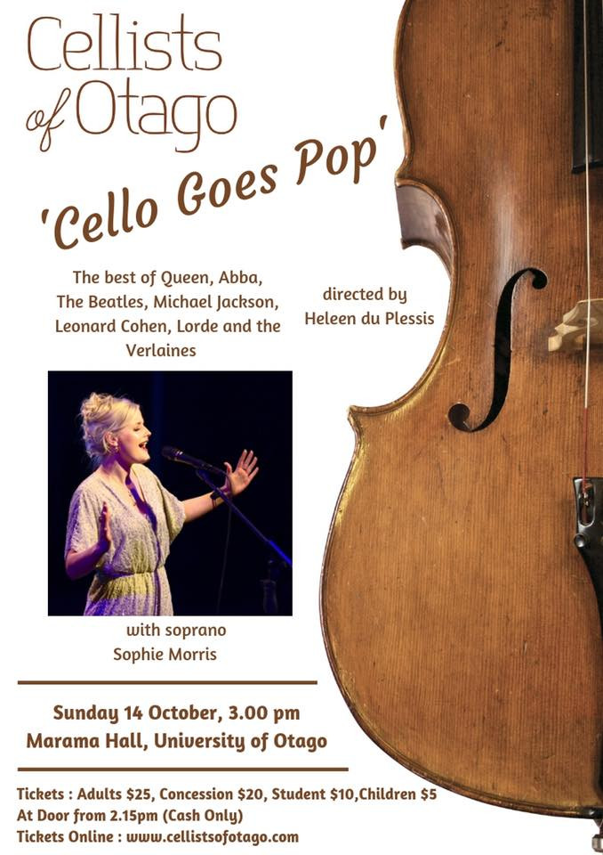 Cello Goes Pop - Concert