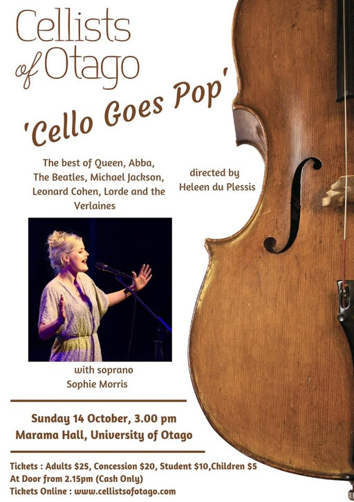 Cello Goes Pop - Concert
