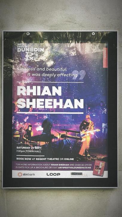 Rhian Sheehan Album Tour - Arts Festival Dunedin