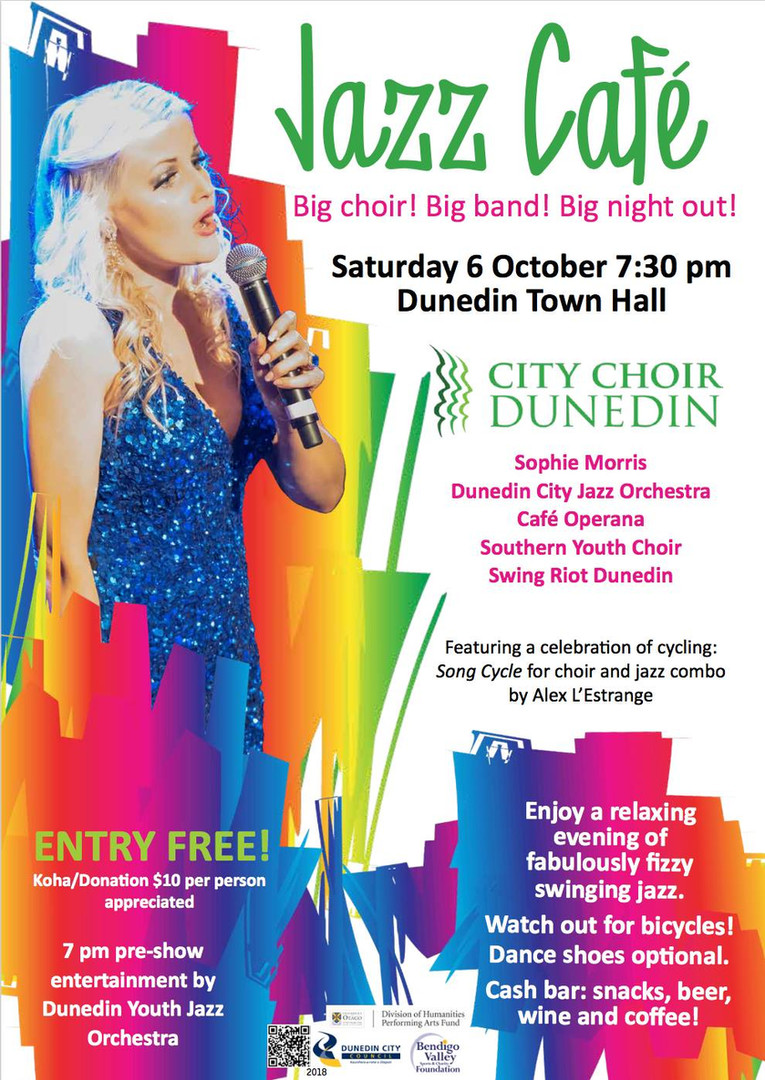 Jazz Cafe - Dunedin Town Hall