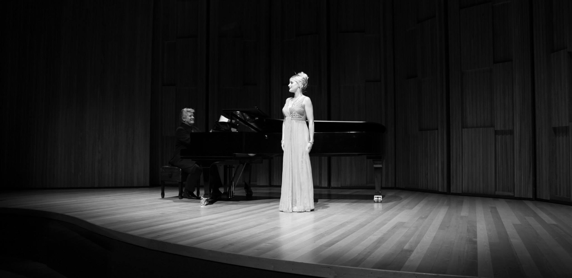 Performing with David Harper, pianist - Napier