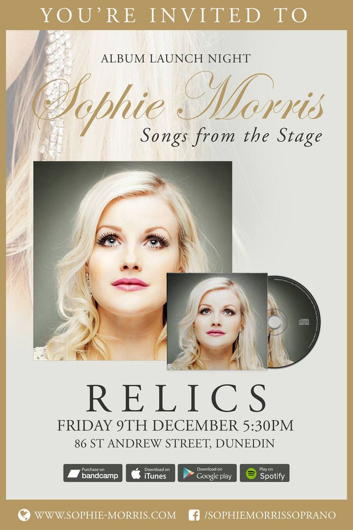 Sophie Morris Songs from the Stage - Album Launch