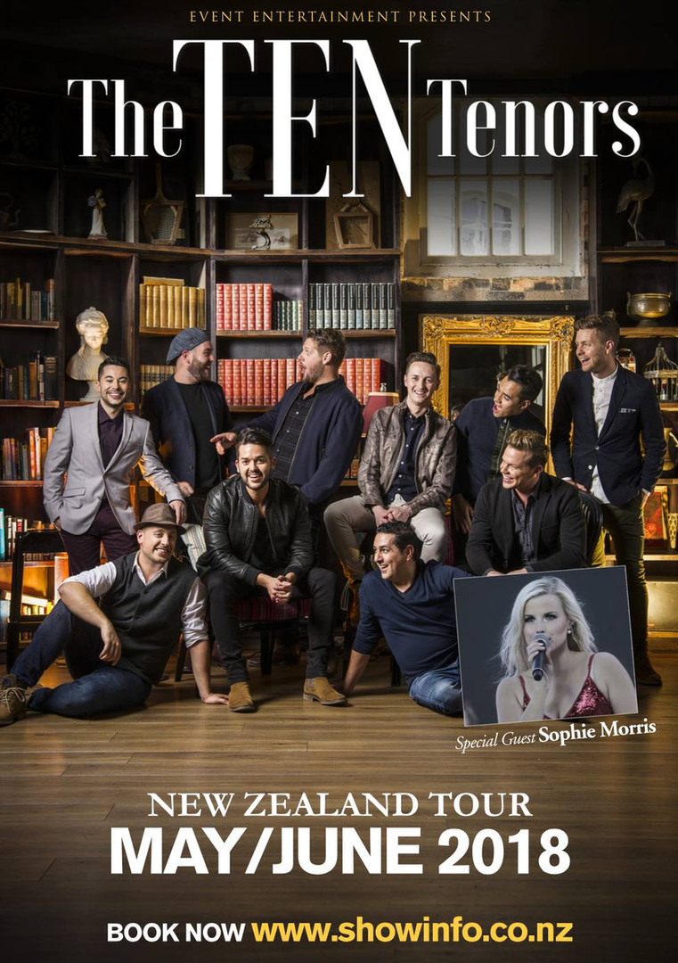 The Ten Tenors 'Wish You Were Here' New Zealand Tour
