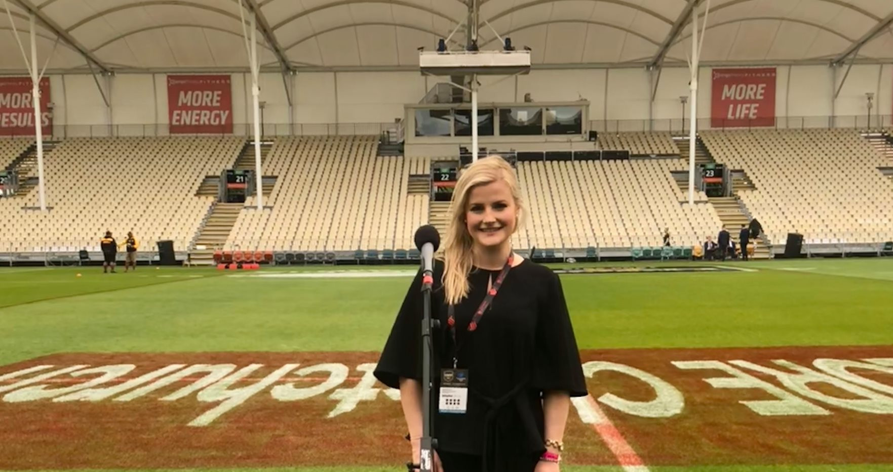 Sound Check - British National Anthem - Great Britain Rugby League Lions v Kiwis - Oceania Cup