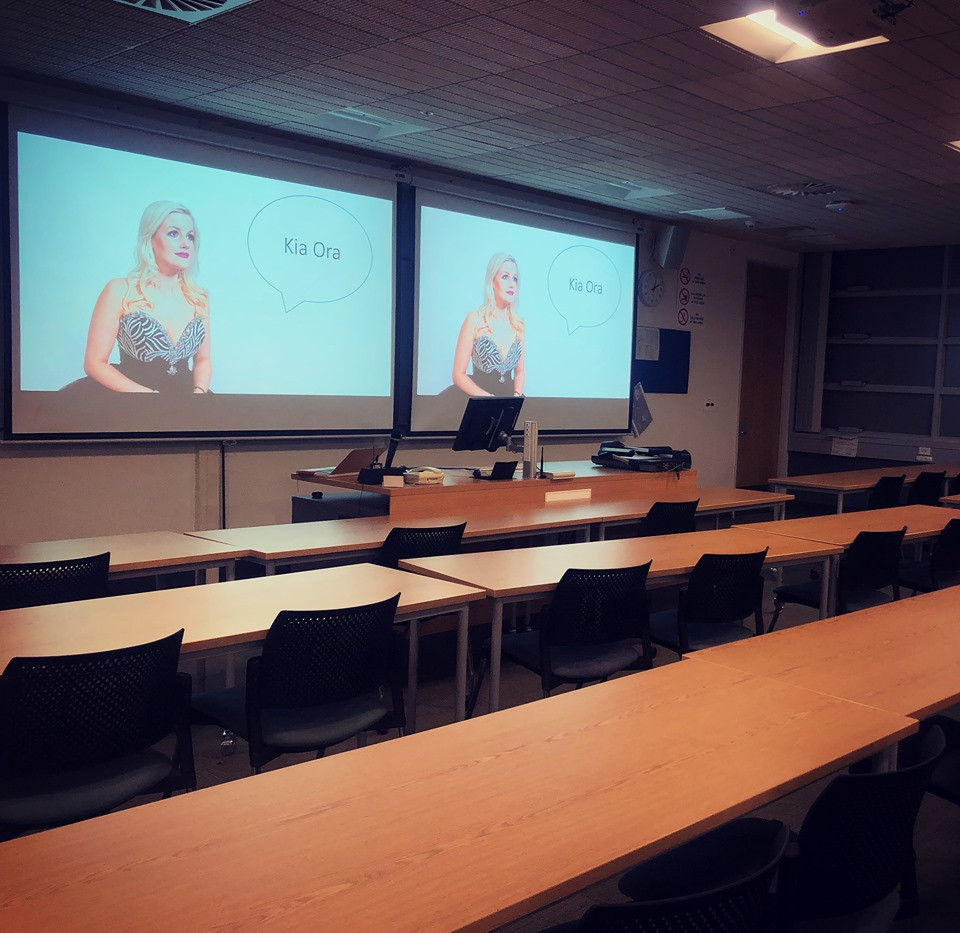 Lecture - Music Industry - Otago University