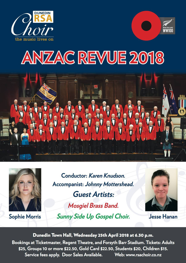 ANZAC Revue - RSA Choir