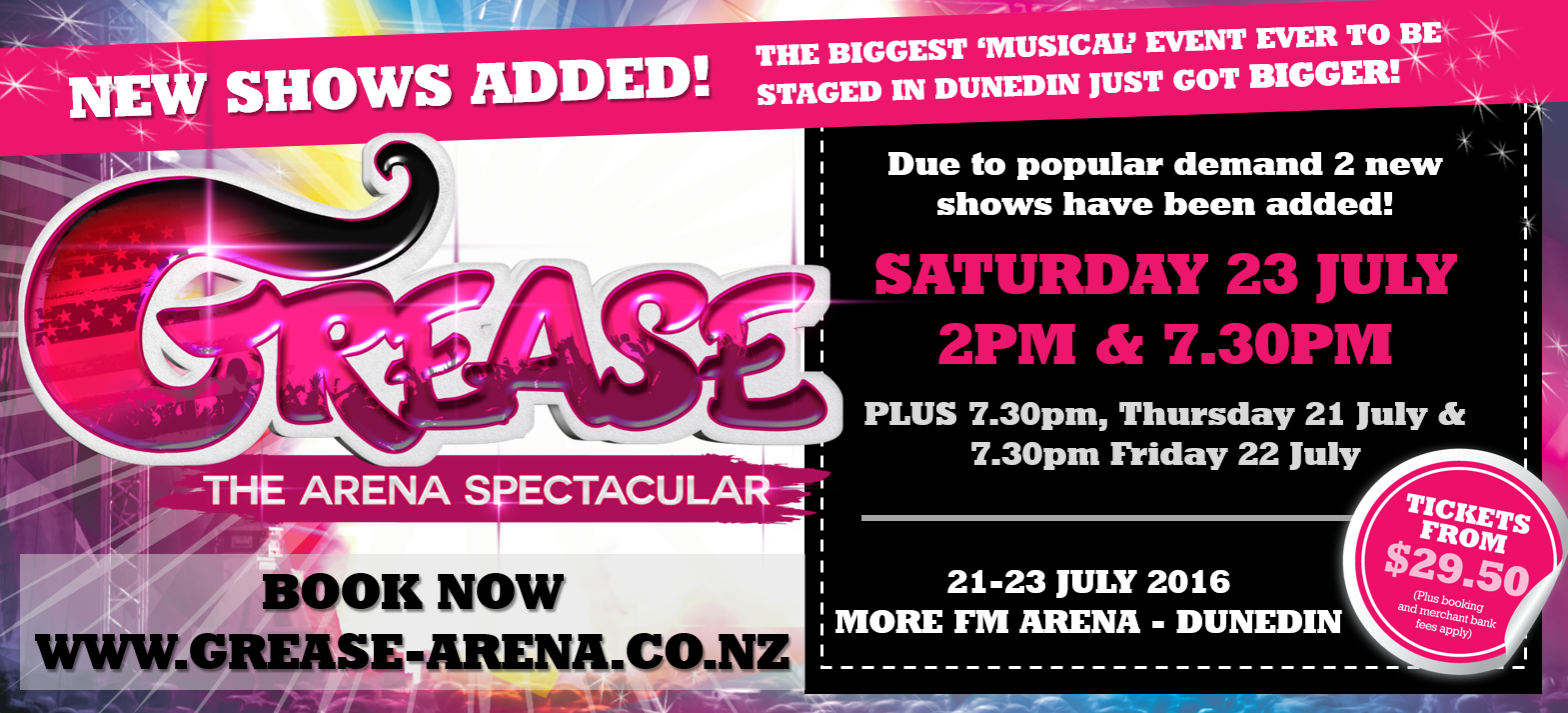Grease: The Arena Spectacular Live