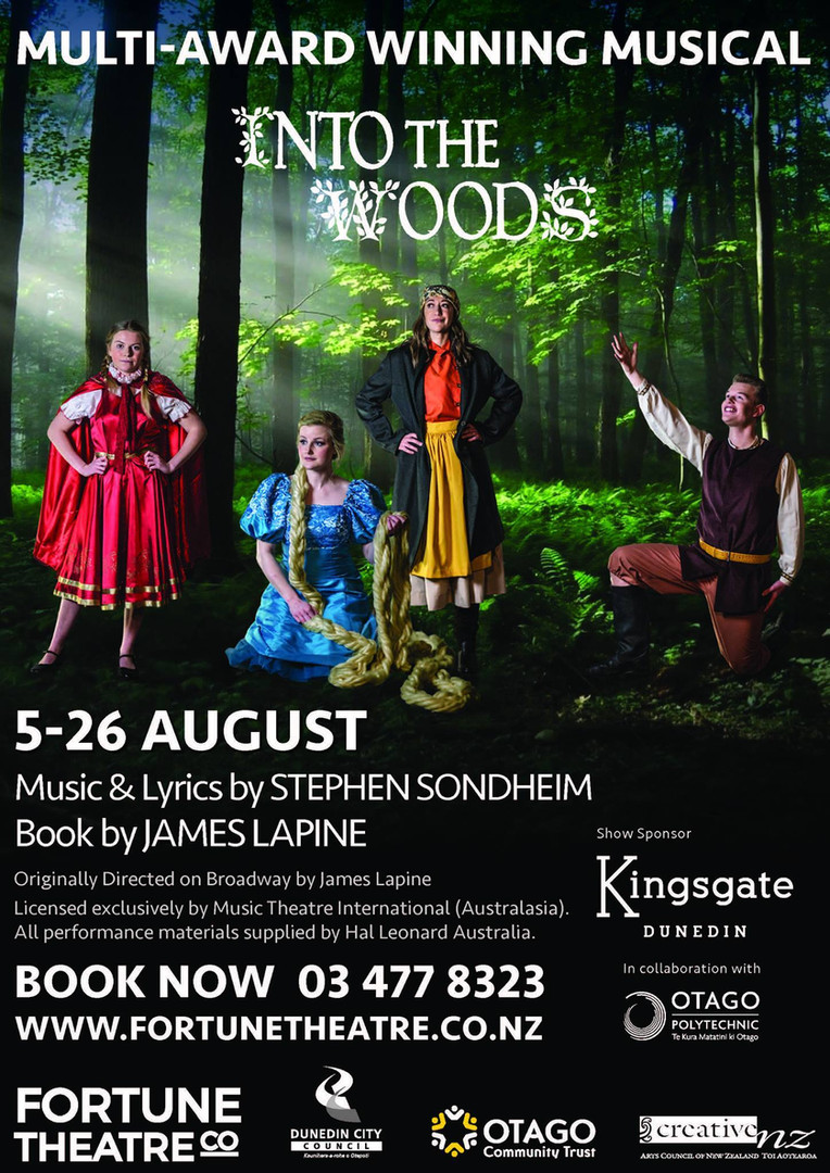 Into the Woods - Fortune Theatre, Dunedin