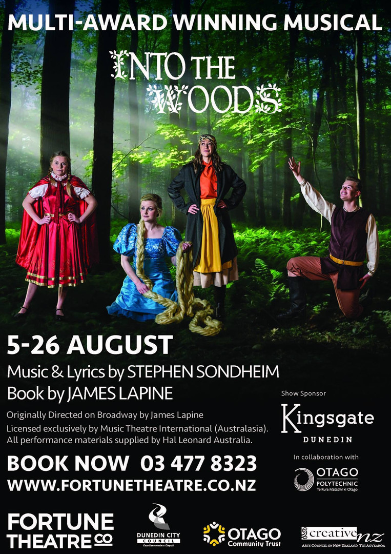 Into the Woods - Fortune Theatre, Dunedin