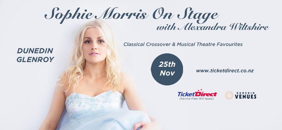 Sophie Morris on Stage - Glenroy Auditorium