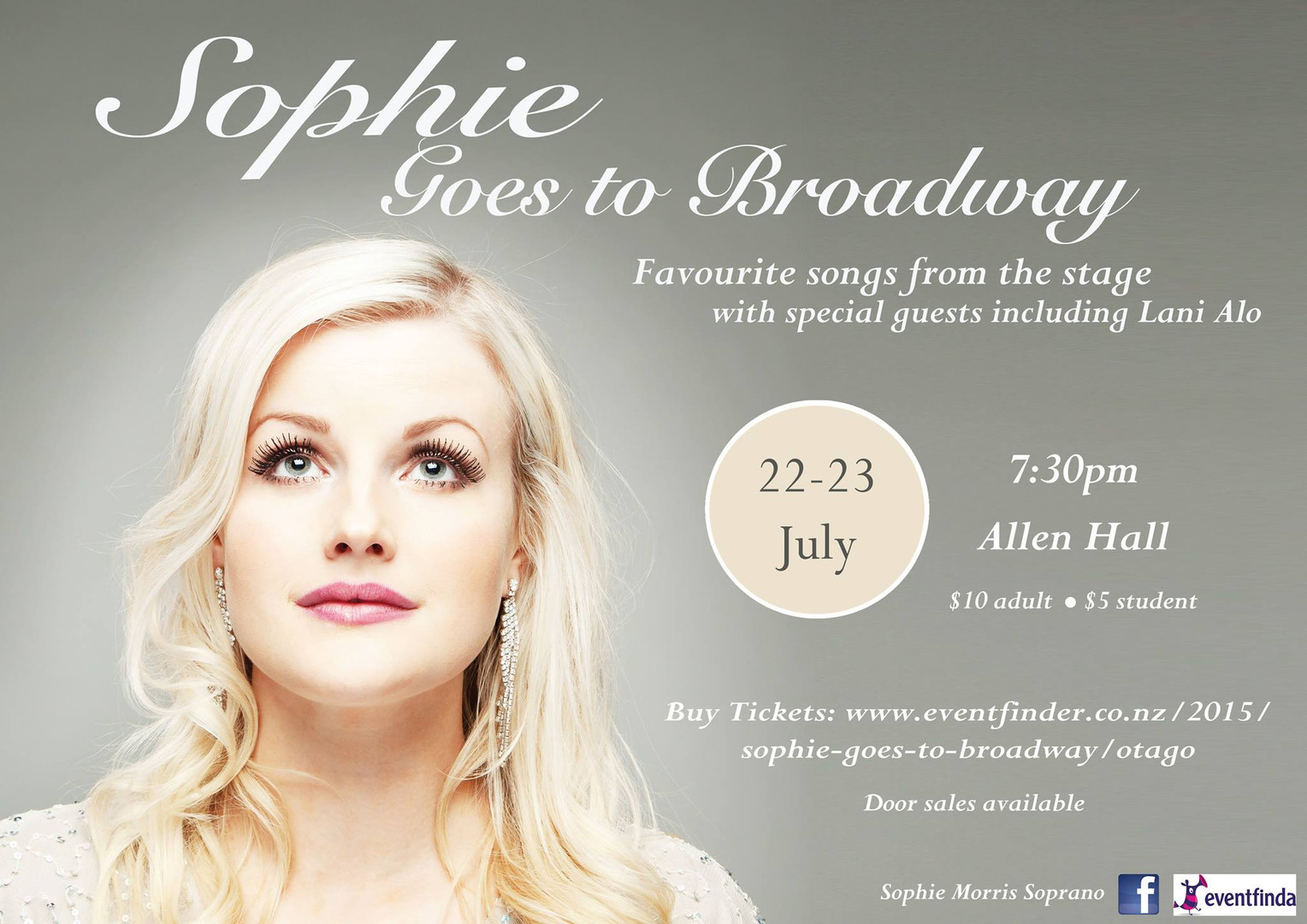 Sophie Goes to Broadway - Solo Show