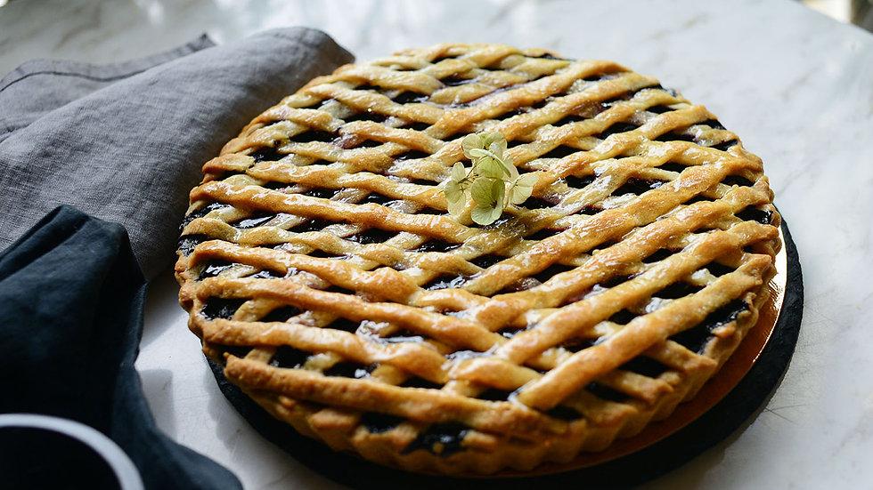 Вишневый пирог (порция)