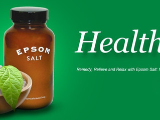 Epsom Salts benefits