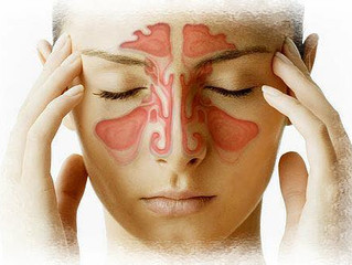 Lymphatic massage for facial pain