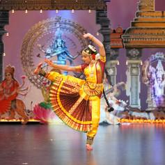 Shakkthy Barathanatiya Arangettam Stage