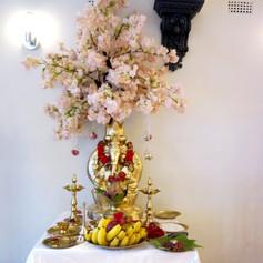 Hindu Wedding - Fresh Flower Mandap (9).