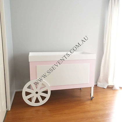 Pink Candy Cart Base Only