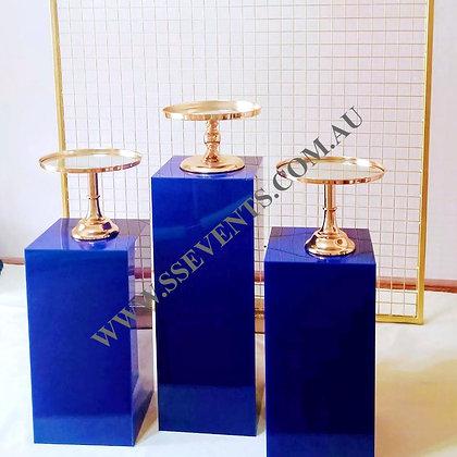 Royal Blue Plinths