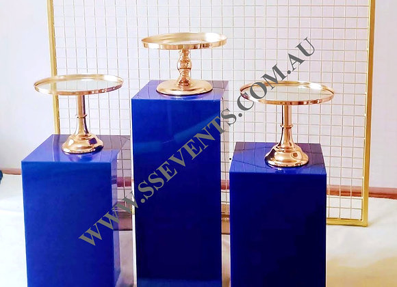 Royal Blue Plinths