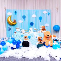 HotAir Balloone Themed Themed -1st Birth