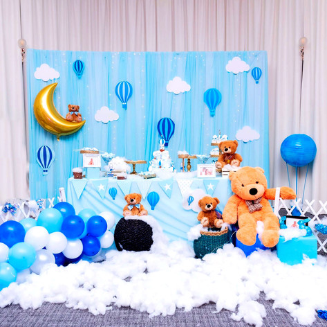 HotAir Balloone Themed Themed -1st Birth