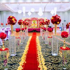 Hindu Wedding - Fresh Flower Mandap (2).