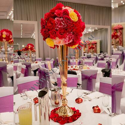 Tall Gold Vase