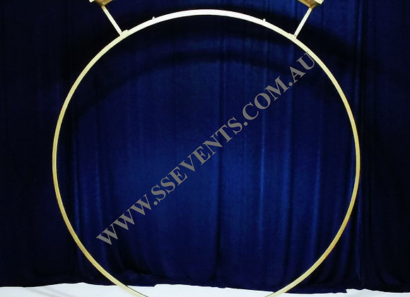 GOLD Single Ring Backdrop